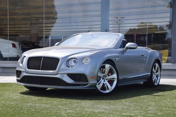 2016 Bentley Continental GT Speed Convertible 2dr Convertible Beverly Hills CA