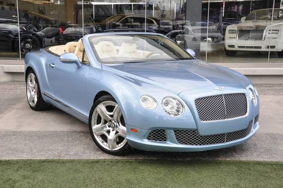 2012 Bentley Continental GT Convertible 2dr Convertible Beverly Hills CA