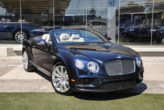 2017 Bentley Continental GT V8 Convertible 2dr Convertible Beverly Hills CA