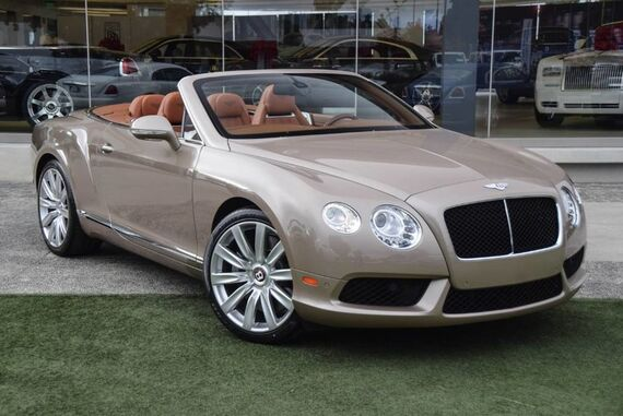 2013 Bentley Continental GT V8 Convertible 2dr Convertible Beverly Hills CA