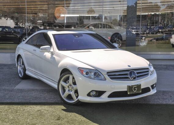 2010 Mercedes-Benz CL-Class CL 550 2dr Coupe Beverly Hills CA