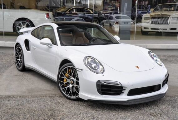 2015 Porsche 911 Turbo S 2dr Coupe Beverly Hills CA