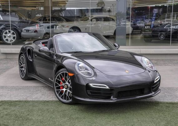 2014 Porsche 911 Turbo Cabriolet 2dr Convertible Beverly Hills CA