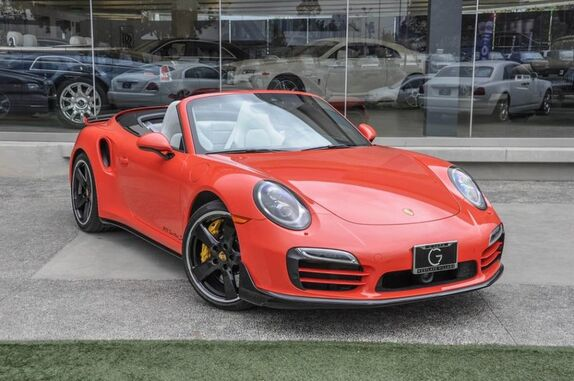 2016 Porsche 911 Cabriolet Turbo S 2dr Convertible Beverly Hills CA