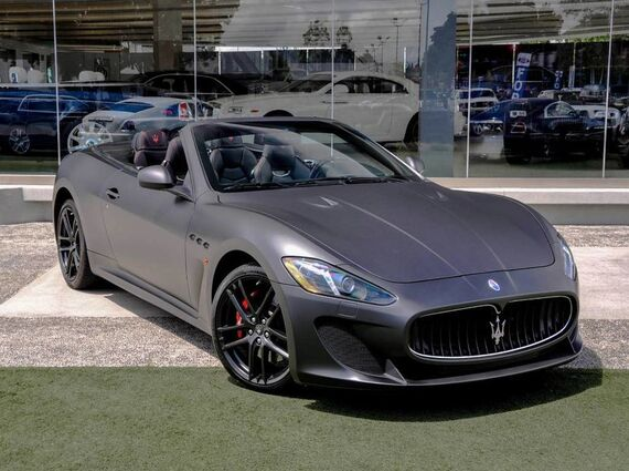 2013 Maserati GranTurismo MC Convertible Sport Beverly Hills CA