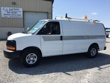 Chevrolet Express 1500 Cargo w/ Ladder Rack & Bins Commercial Cargo 2008