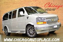 2011 Chevrolet Express Cargo Van YF7 Upfitter AWD FLEX FUEL LEATHER REAR TV CAPTAIN CHAIRS 1 OWNER Bensenville IL