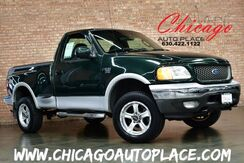 2002 Ford F-150 XLT V8 TRITON FLARESIDE 4WD BED COVER ALLOYS CLEAN CARFAX Bensenville IL