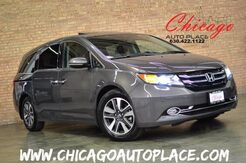 2014 Honda Odyssey Touring Elite 1 OWNER NAVI BACKUP CAM REAR TV LOADED Bensenville IL