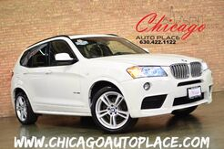 2014 BMW X3 xDrive35i M-SPORT HEADS UP DISPLAY NAV BACKUP CAM 1 OWNER Bensenville IL
