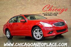 2010 INFINITI G37 Sedan x - LEATHER HEATED SEATS BACKUP CAM SUNROOF WOOD GRAIN Bensenville IL