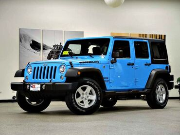2017 Jeep Wrangler Unlimited Sport Canton MA