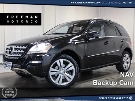 2011 Mercedes-Benz ML 350 4MATIC Backup Cam NAV Htd Seats HIDs Portland OR