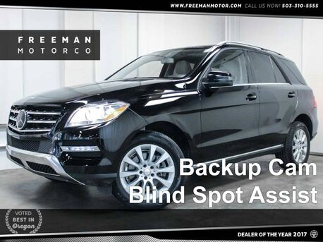 2015 Mercedes-Benz ML 250 BlueTEC Distronic Blind Spot Assist Backup Cam Portland OR