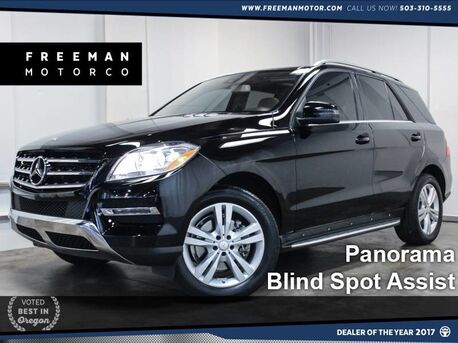 2013 Mercedes-Benz ML 350 4MATIC Pano Blind Spot Assist Backup Cam Portland OR