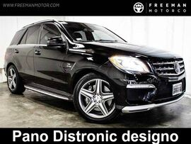 2013 Mercedes-Benz ML63 AMG 518 HP Pano Distronic Backup Cam 27k Miles