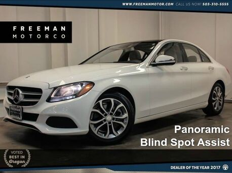 2016 Mercedes-Benz C 300 Pano Blind Spot Assist NAV 14k Miles Portland OR