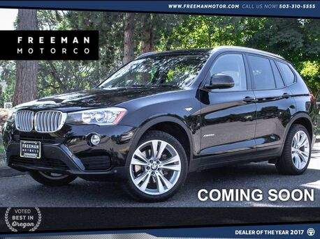 2015 BMW X3 xDrive28d Pano Backup Cam 11K Portland OR