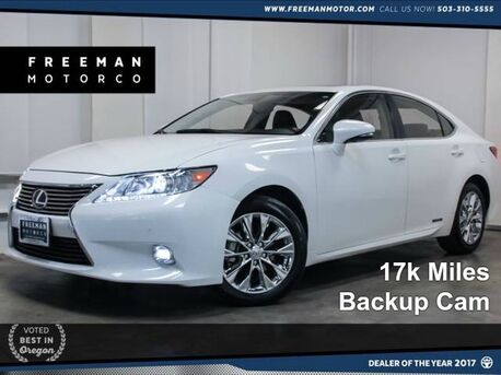 2015 Lexus ES 300h Hybrid Blind Spot Assist 17k Miles Portland OR