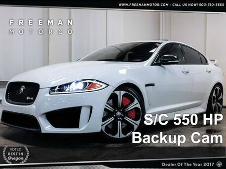 2013 Jaguar XFR-S 550 HP Backup Cam Htd/Cooled Seats Portland OR