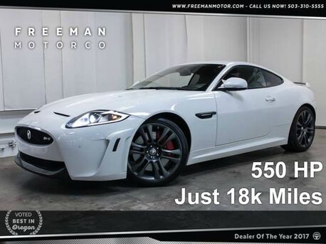 2012 Jaguar XKR-S 550 HP Backup Cam Htd Seats 18k Miles Portland OR