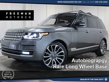 2016 Land Rover Range Rover Autobiography Long Wheel Base Portland OR