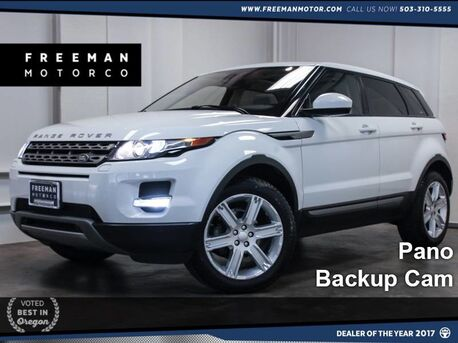 2015 Land Rover Range Rover Evoque Pano Heated Seats Backup Cam Portland OR