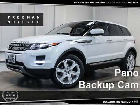 2013 Land Rover Range Rover Evoque Pure Plus Backup Cam Portland OR