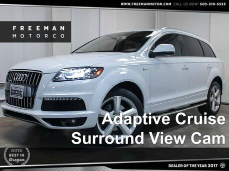 2013 Audi Q7 3.0T S line Prestige Backup Cam Blind Spot Assist Portland OR