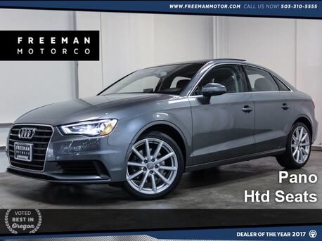 2015 Audi A3 1.8T Premium Heated Seats Pano Portland OR