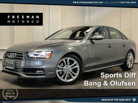 2015 Audi S4 Premium Plus Backup Cam Sports Diff 16k Miles Portland OR
