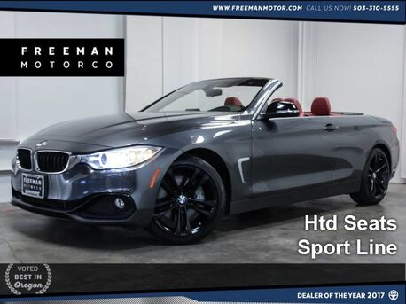 2014 BMW 435i Sport Convertible Htd Seats 28k Miles Portland OR