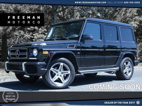 2008 Mercedes-Benz G500 4MATIC AMG Upgrades Backup Cam 29k Miles Portland OR