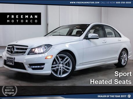 2013 Mercedes-Benz C 250 Sport Heated Seats Portland OR