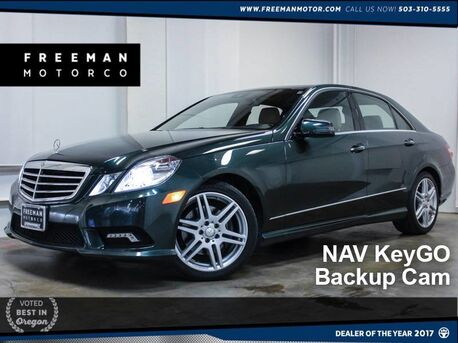 2010 Mercedes-Benz E 350 4MATIC Sport Backup Cam HIDs KeyGO Portland OR