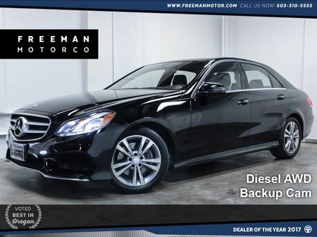2014 Mercedes-Benz E 250 BlueTEC 4MATIC Sport Diesel Backup Cam 25k Miles Portland OR