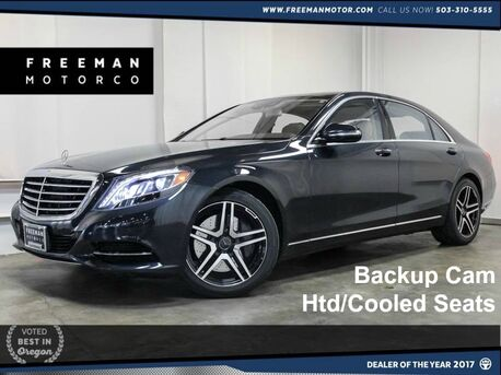 2014 Mercedes-Benz S 550 Pano Htd/Cooled Seats Backup Cam Portland OR