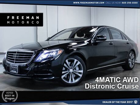 2014 Mercedes-Benz S 550 4MATIC Distronic Pano Htd/Ventilated Seats Portland OR