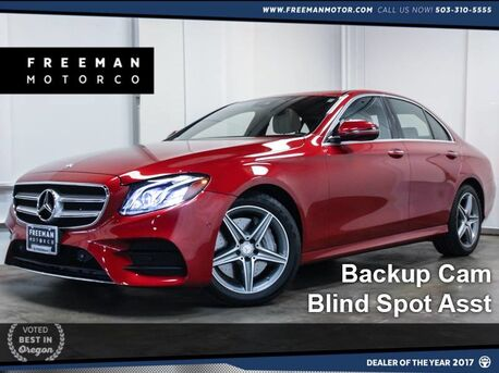 2017 Mercedes-Benz E 300 4MATIC Blind Spot Asst Backup Cam Portland OR