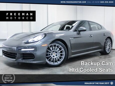 2015 Porsche Panamera Backup Cam Htd/Cooled Seats 16k Miles Portland OR