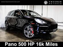 2014 Porsche Cayenne Turbo 4WD 500 HP Pano Backup Cam Htd/Cooled Seats 16k Miles Portland OR