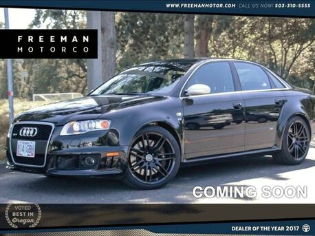 2007 Audi RS 4 6-Speed Premium Pkg 420 HP 22k Miles Portland OR