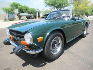 1974 Triumph TR6  Scottsdale AZ