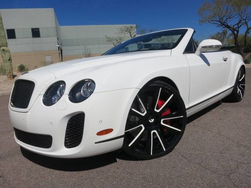 2012 Bentley Continental Supersports Convertible Scottsdale AZ