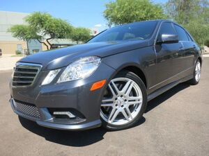 2010 Mercedes-Benz E550 Sport Sedan Scottsdale AZ