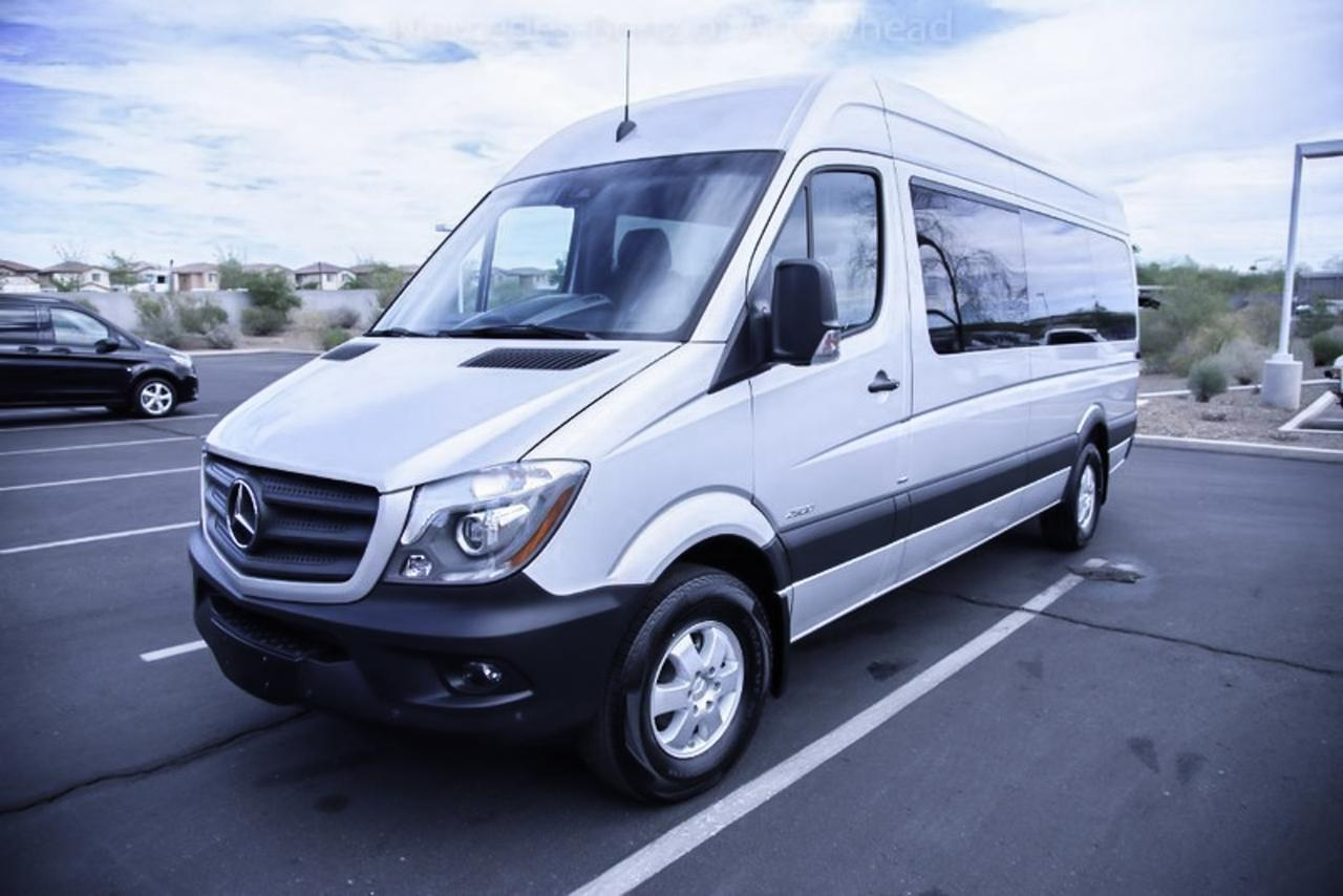 2016 mercedes benz sprinter passenger vans peoria az 15435946 for Mercedes benz sprinter passenger
