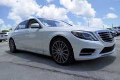 2017_Mercedes-Benz_S_550 Long wheelbase_ Coral Gables FL