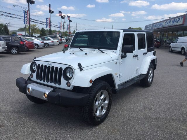 2015 Jeep Wrangler Unlimited Sahara 4WD Cleveland OH