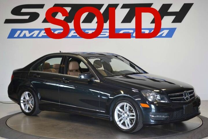 2014 Mercedes-Benz C-Class C 250 Sport MSRP $44,880, 9K OPTIONS, LEATHER SEATING PKG, MULT Memphis TN