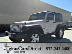 2008 Jeep Wrangler X Dallas TX